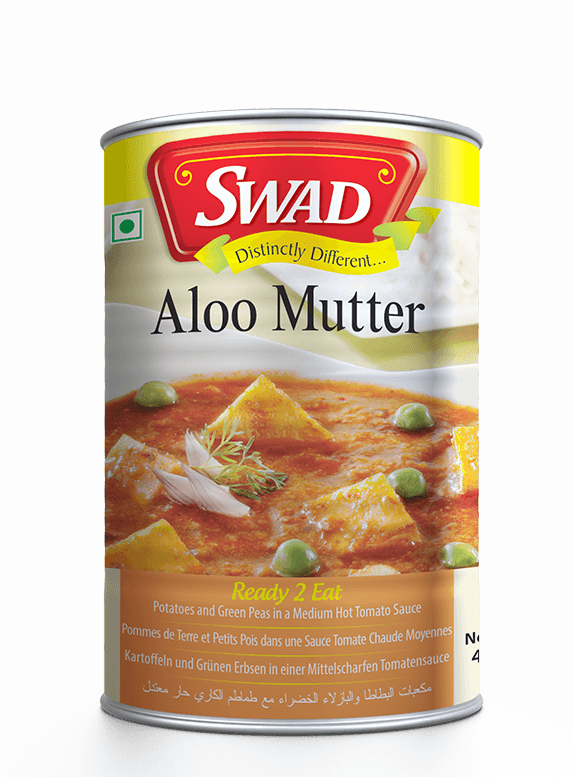 Aloo Mutter - Vimal Agro Products Pvt. Ltd. - Irresistible Taste