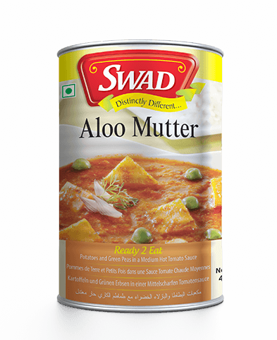 Aloo Mutter - Surti Undhiyu - Vimal Agro Products Pvt. Ltd. - Irresistible Taste