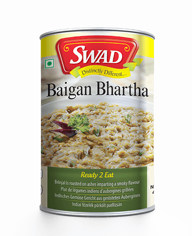 Baigan Bhartha - Surti Undhiyu - Vimal Agro Products Pvt. Ltd. - Irresistible Taste