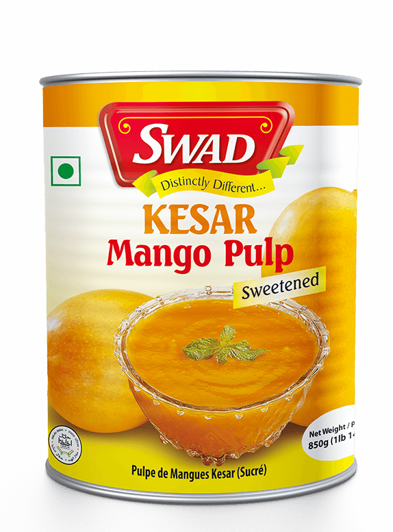 Kesar Mango Pulp - Vimal Agro Products Pvt. Ltd. - Irresistible Taste