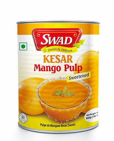 Kesar Mango Pulp -  - Vimal Agro Products Pvt. Ltd. - Irresistible Taste