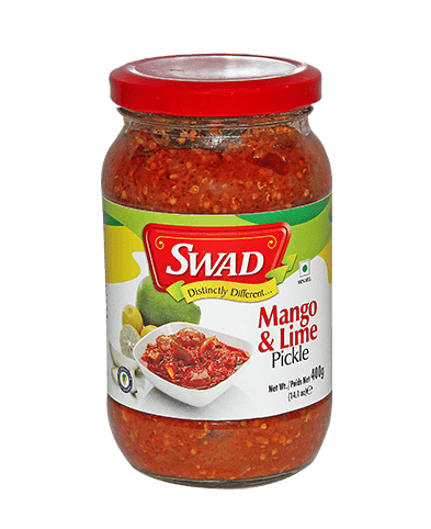 Mango & Lime Pickle - Lime & Chilli Pickle - Vimal Agro Products Pvt. Ltd. - Irresistible Taste