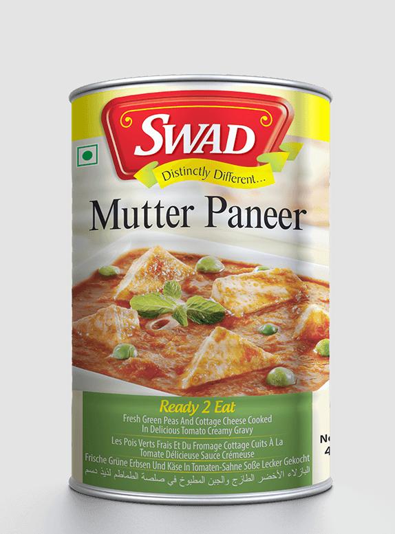 Matar Paneer - Vimal Agro Products Pvt. Ltd. - Irresistible Taste