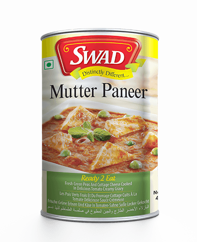 Matar Paneer -  - Vimal Agro Products Pvt. Ltd. - Irresistible Taste
