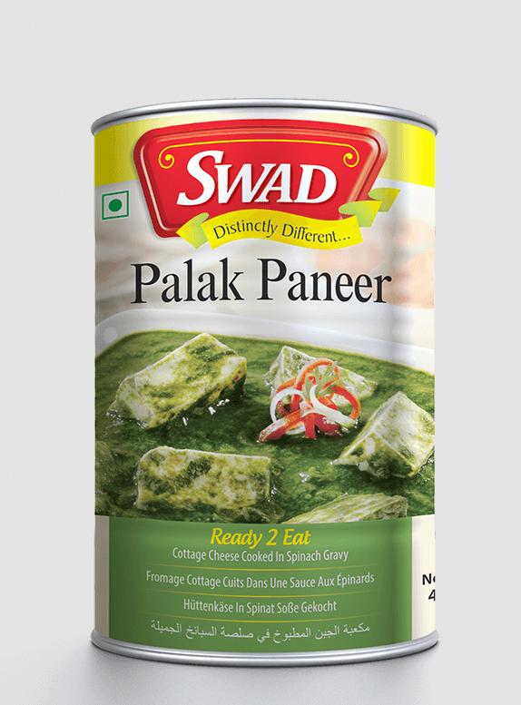 Palak Paneer - Vimal Agro Products Pvt. Ltd. - Irresistible Taste