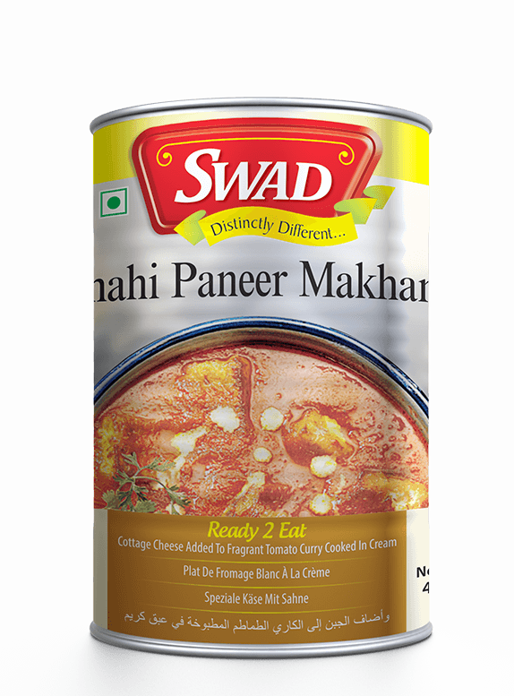 Shahi Paneer Makhani - Vimal Agro Products Pvt. Ltd. - Irresistible Taste