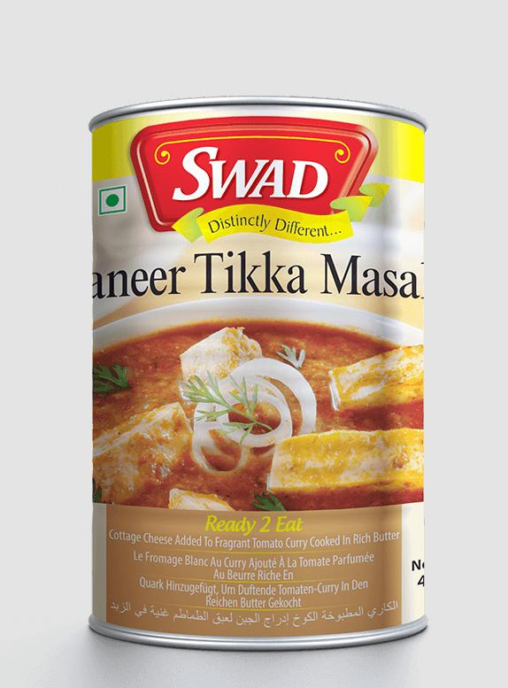 Paneer Tikka Masala - Vimal Agro Products Pvt. Ltd. - Irresistible Taste