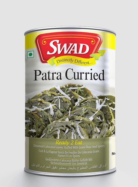 Patra Curried - Vimal Agro Products Pvt. Ltd. - Irresistible Taste