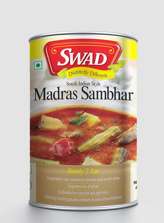 Madras Sambar - Vimal Agro Products Pvt. Ltd. - Irresistible Taste