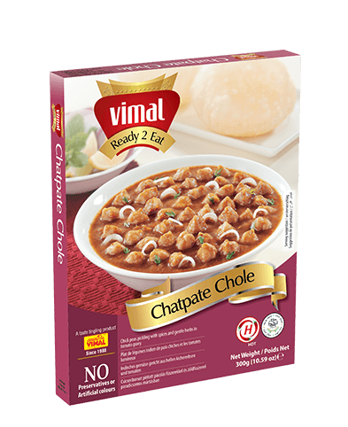 Chatpate Chole - Dal Tadka - Vimal Agro Products Pvt. Ltd. - Irresistible Taste