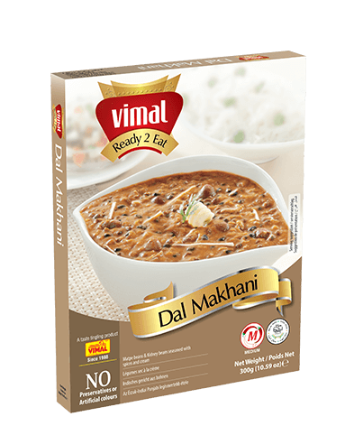 Dal Makhani - Dal Tadka - Vimal Agro Products Pvt. Ltd. - Irresistible Taste