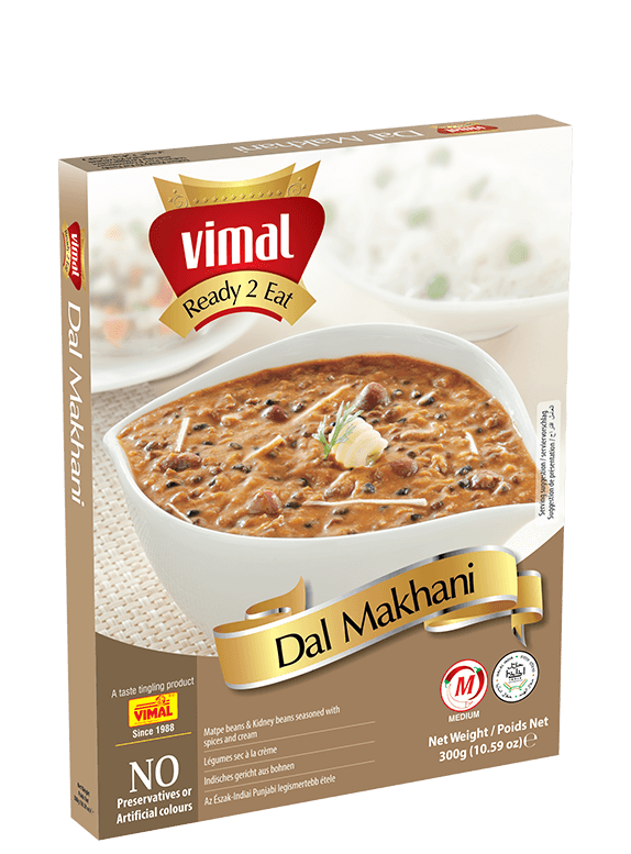 Dal Makhani - Vimal Agro Products Pvt. Ltd. - Irresistible Taste