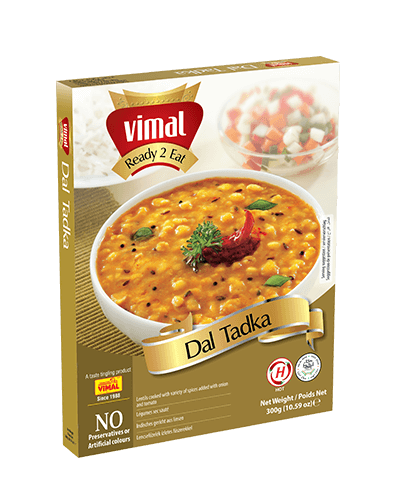 Dal Tadka - Dal Tadka - Vimal Agro Products Pvt. Ltd. - Irresistible Taste