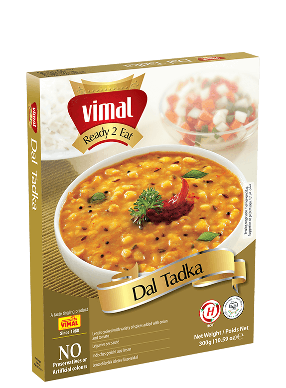 Dal Tadka - Vimal Agro Products Pvt. Ltd. - Irresistible Taste