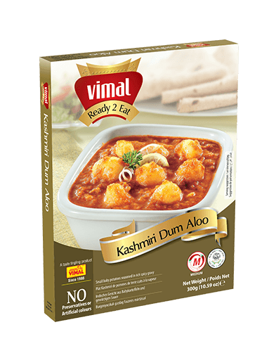 Kashmiri Dum Aloo - Dal Tadka - Vimal Agro Products Pvt. Ltd. - Irresistible Taste
