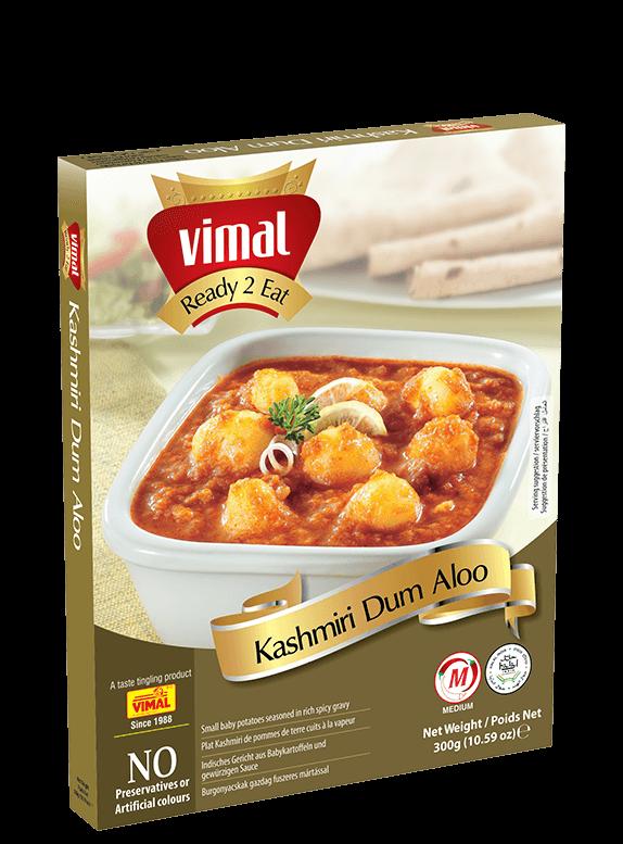Kashmiri Dum Aloo - Vimal Agro Products Pvt. Ltd. - Irresistible Taste
