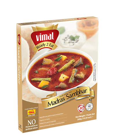 Madras Sambhar -  - Vimal Agro Products Pvt. Ltd. - Irresistible Taste