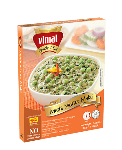 Methi Mutter Malai - Dal Tadka - Vimal Agro Products Pvt. Ltd. - Irresistible Taste