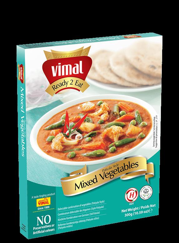 Mixed Vegetables Patiyala - Vimal Agro Products Pvt. Ltd. - Irresistible Taste