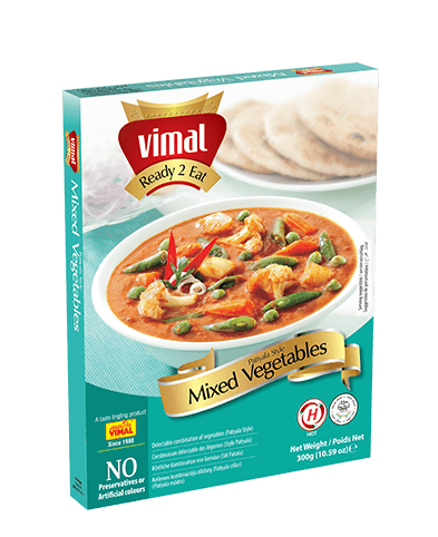 Mixed Vegetables Patiyala - Dal Tadka - Vimal Agro Products Pvt. Ltd. - Irresistible Taste