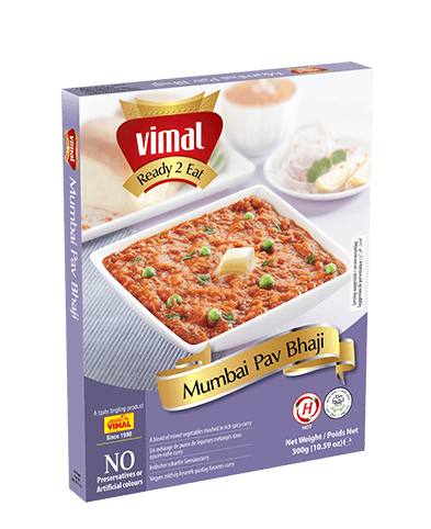 Mumbai Pavbhaji -  - Vimal Agro Products Pvt. Ltd. - Irresistible Taste