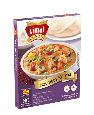 Navratan Korma - Dal Tadka - Vimal Agro Products Pvt. Ltd. - Irresistible Taste