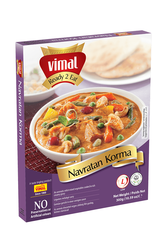 Navratan Korma - Vimal Agro Products Pvt. Ltd. - Irresistible Taste
