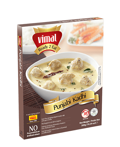 Punjabi Kadhi - Dal Tadka - Vimal Agro Products Pvt. Ltd. - Irresistible Taste