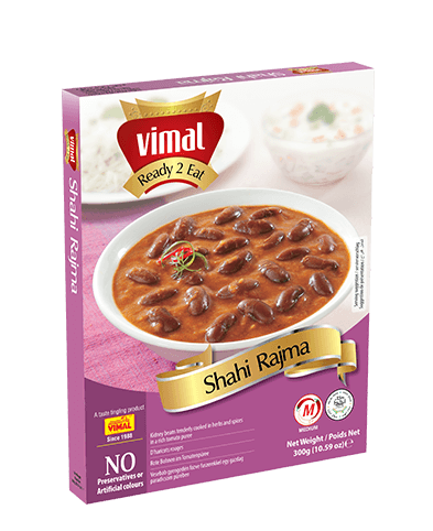 Shahi Rajma - Dal Tadka - Vimal Agro Products Pvt. Ltd. - Irresistible Taste