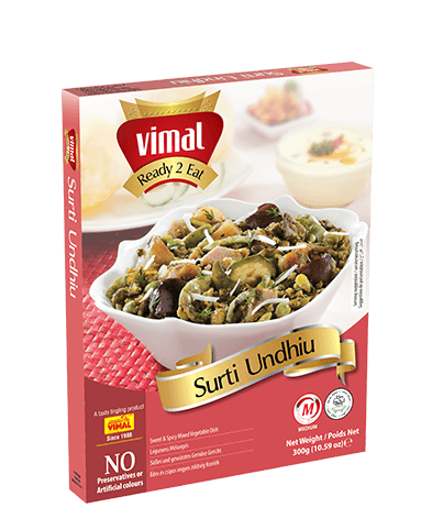 Surti Undhiu - Dal Tadka - Vimal Agro Products Pvt. Ltd. - Irresistible Taste