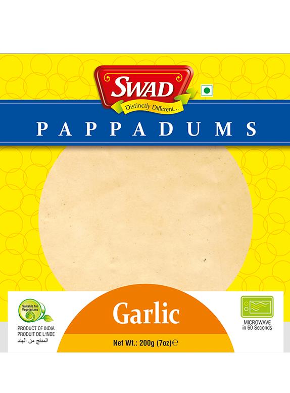Garlic Papad - Vimal Agro Products Pvt. Ltd. - Irresistible Taste