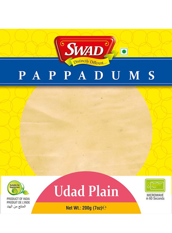 Udad Plain Papad - Vimal Agro Products Pvt. Ltd. - Irresistible Taste